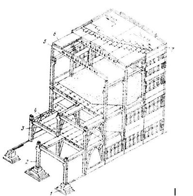здание каркасного типа